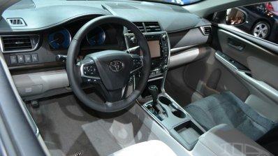 2015 Toyota Camry at 2014 NY Auto Show interior