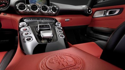 Mercedes-AMG GT first interior images center console press shot