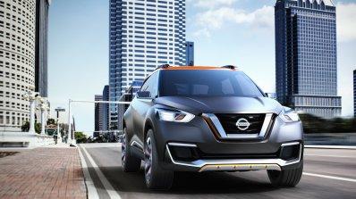 Nissan Kicks Concept front angle Press shot