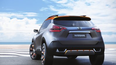Nissan Kicks Concept rear Press shot