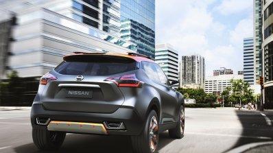 Nissan Kicks Concept rear quarter Press shot