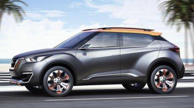Nissan Kicks Concept side press image