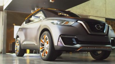 Nissan Kicks concept front three quarters