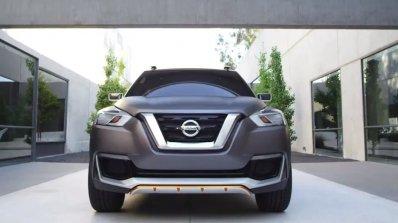 Nissan Kicks concept front