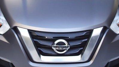 Nissan Kicks concept grille
