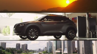 Nissan Kicks concept side