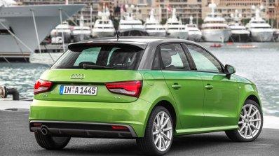 Audi A1 Sportback rear three quarter