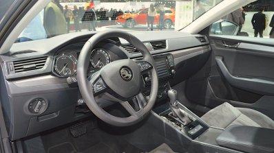 2015 Skoda Superb interior(front) at 2015 Geneva Motor Show