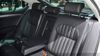 2015 Skoda Superb rear seat(2) at 2015 Geneva Motor Show