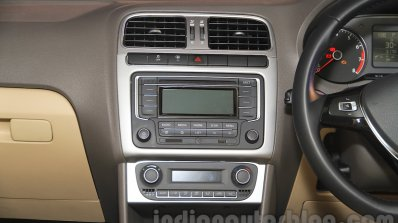 2015 VW Vento facelift center console