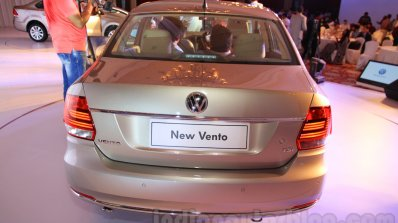 2015 VW Vento facelift rear