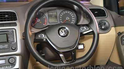 2015 VW Vento facelift steering wheel
