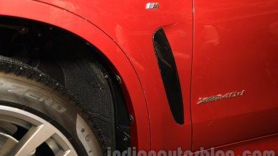 2015 BMW X6 badge India
