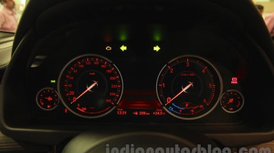 2015 BMW X6 cluster India