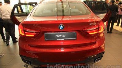 2015 BMW X6 rear end India