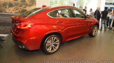 2015 BMW X6 rear quarter India