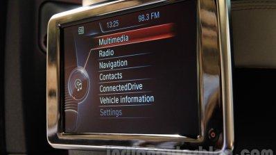 2015 BMW X6 rear screen India