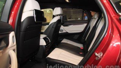 2015 BMW X6 rear seats India