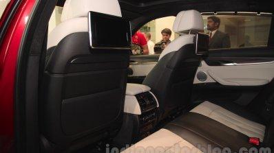 2015 BMW X6 rear space India