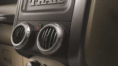 2015 Mahindra Thar facelift center console press shots