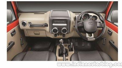 2015 Mahindra Thar facelift interior press shots