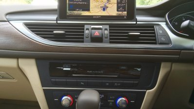 Audi A6 Matrix MMI system navigation review