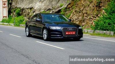Audi A6 Matrix front three quarter review
