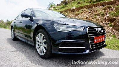 Audi A6 Matrix front three quarters left review
