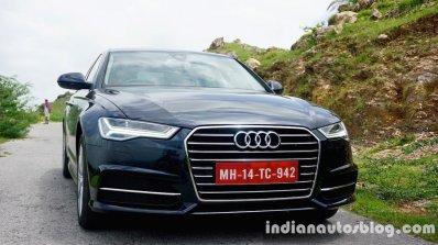 Audi A6 Matrix front three quarters review
