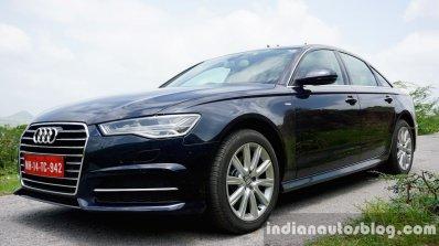 Audi A6 Matrix front three quarters right review