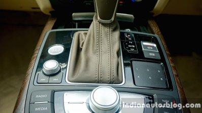 Audi A6 Matrix gear selector stitching review