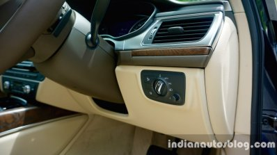 Audi A6 Matrix headlamp switch review