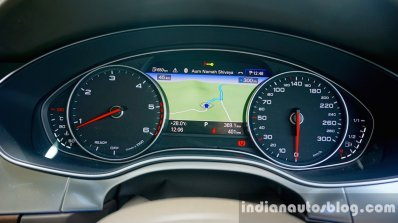Audi A6 Matrix instrument cluster review