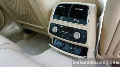 Audi A6 Matrix rear AC vent review