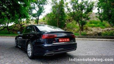 Audi A6 Matrix rear three quarters left review