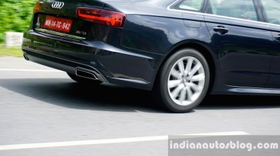 Audi A6 Matrix rear wheel in motion review