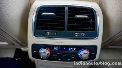 Audi A6 Matrix review rear AC vent