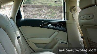 Audi A6 Matrix review rear door card