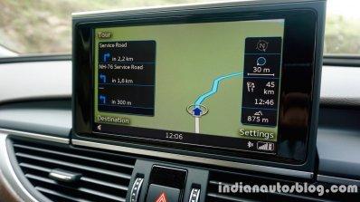 Audi A6 Matrix screen review