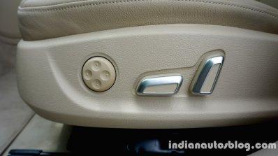 Audi A6 Matrix seat power adjustment review