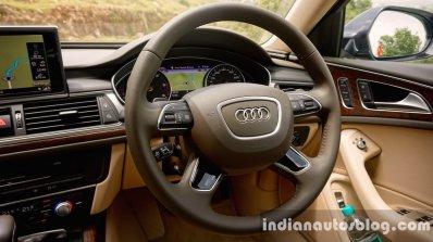 Audi A6 Matrix steering wheel review