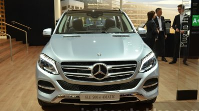 2015 Mercedes GLE front at the IAA 2015