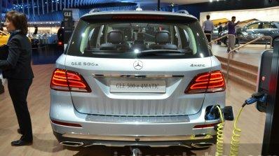 2015 Mercedes GLE rear at the IAA 2015