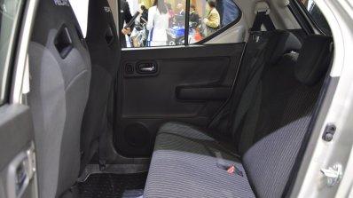 Suzuki Alto Works rear cabin at the 2015 Tokyo Motor Show