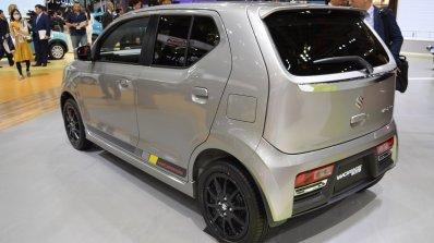 Suzuki Alto Works rear three quarter at the 2015 Tokyo Motor Show