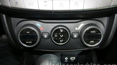 Fiat Tipo AC controls at the 2015 Dubai Motor Show