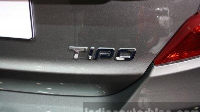 Fiat Tipo badge at the 2015 Dubai Motor Show