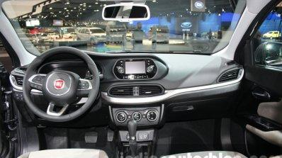 Fiat Tipo dashboard at the 2015 Dubai Motor Show