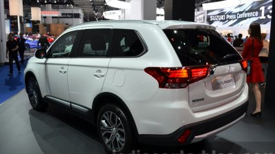 India-bound 2016 Mitsubishi Outlander - Motorshow Focus