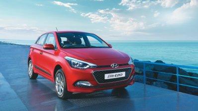 2016 Hyundai Elite i20 front three quarter unveiled